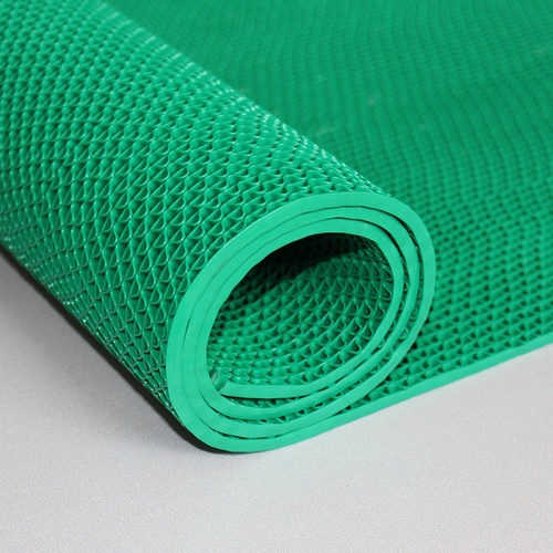 GRAFFE พรมกันลื่นพีวีซี ขนาด 90x300ซม. หนา 0.45ซม. FMS7000–930GN สีเขียว