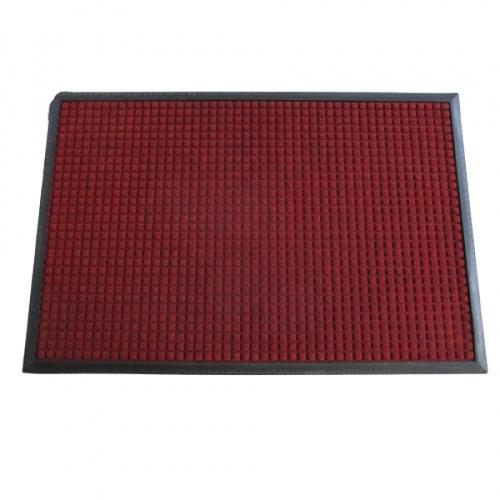 GRAFFE พรมดักฝุ่นและกันลื่น  ขนาด 60x90ซม. หนา 0.7มม.  สีแดง