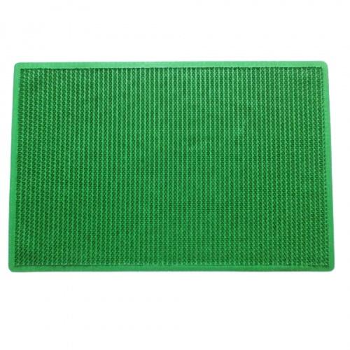 GRAFFE พรมดักฝุ่นกันลื่นแบบหนาม  ขนาด 60x90ซม. หนา 1มม.  สีเขียว