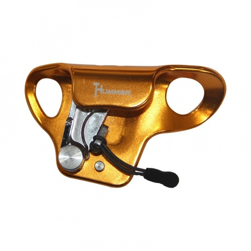 HUMMER อุปกรณ์บีบจับเชือกที่หน้าอก ขนาด 13 มม.  BT-RB16AAA 8 สีดำ-เหลือง