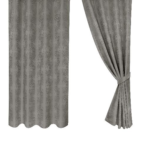 Davinci ผ้าม่านหน้าต่าง ขนาด 140x160ซม. A70114#1WD  สีน้ำตาล