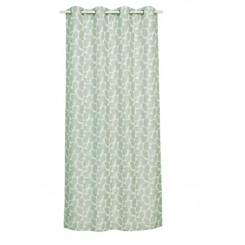 Davinci ผ้าม่านประตูพิมพ์ลาย ขนาด 150x240ซม.   A72064CC#4D สีเขียว