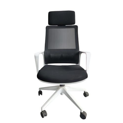 SMITH เก้าอี้สำนักงาน  SK3170A สีขาว-ดำ