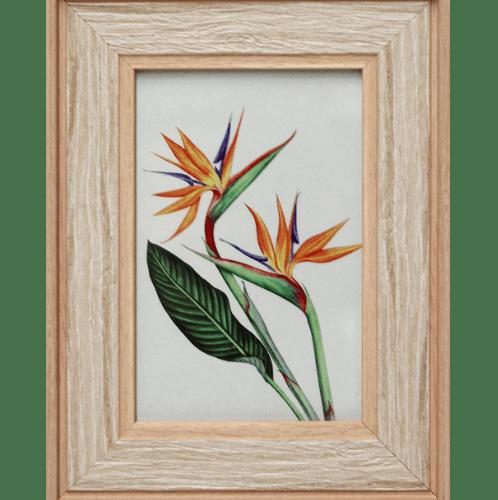 COZY กรอบรูป ขนาด 4x6นิ้ว ลายไม้ สี Natural wood