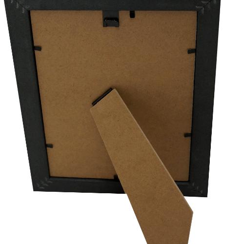 COZY กรอบรูป ขนาด 6x8นิ้ว  เมทัลลิค  สีดำ