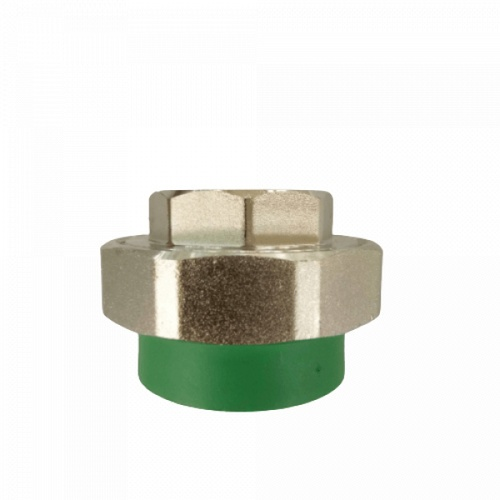 ERA ข้อต่อยูเนียนเกลียวในทองเหลือง 63 mm 2 นิ้ว PPR