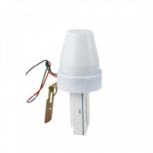 V.E.G.  เซ็นเซอร์แสงแดด 10A  ST302 สีขาว