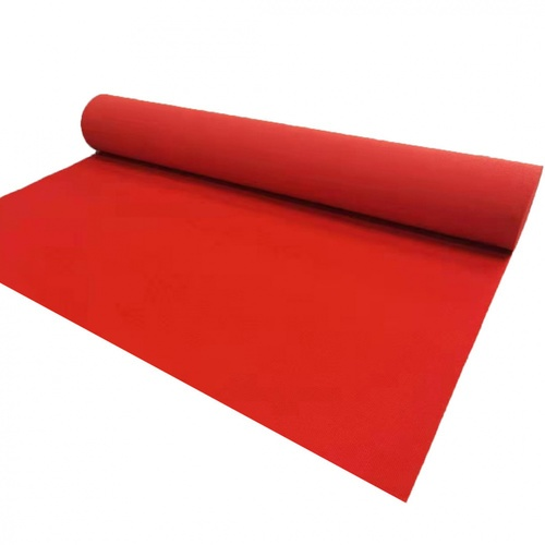 GRAFFE พรมอัดลูกฟูกหนาพิเศษ ขนาด 2x15 เมตร AKR05 สีแดง