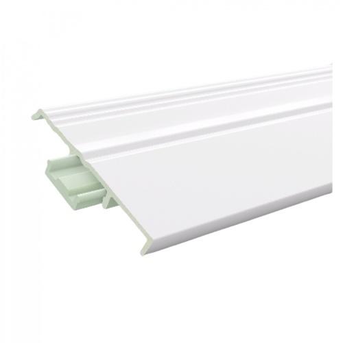 GREAT WOOD ไม้บัวล่าง PVC FBM-1001A 100x14x2700mm. WH05