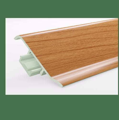 GREAT WOOD ไม้บัวล่าง PVC รุ่น FBM-1001D 100x21x2700mm. CH01 GREATWOOD  คละสี