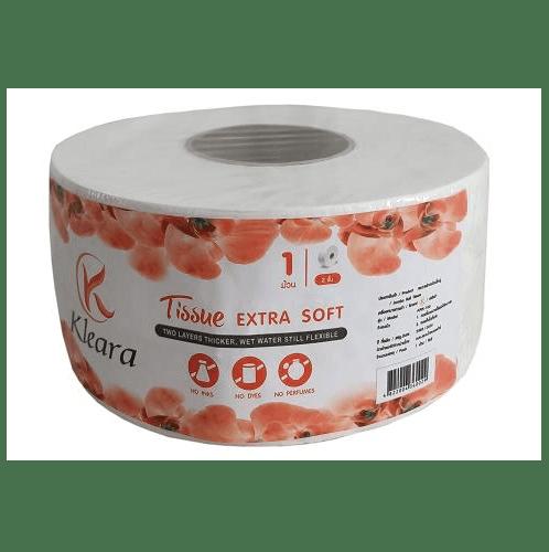 KLEARA  กระดาษชำระม้วนใหญ่ ARK-100 สีขาว