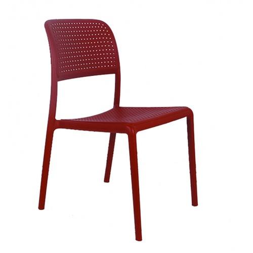 Pulito เก้าอี้พลาสติก ขนาด 57x48.7x86ซม. PP-695-R05 สีแดง