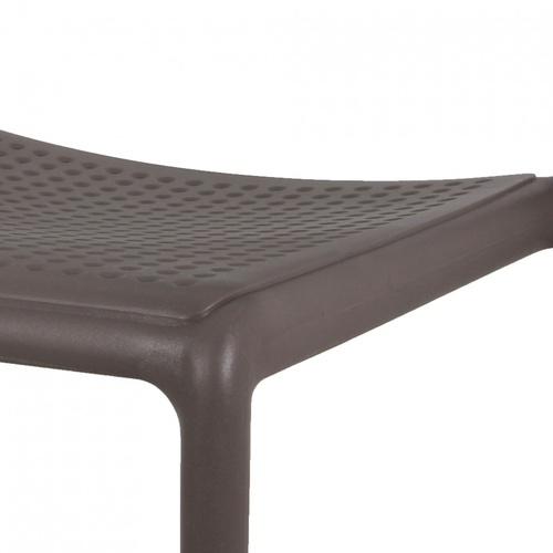 Pulito เก้าอี้พลาสติก ขนาด 57x48.7x86ซม.  PP-695-GR02  สีเทา