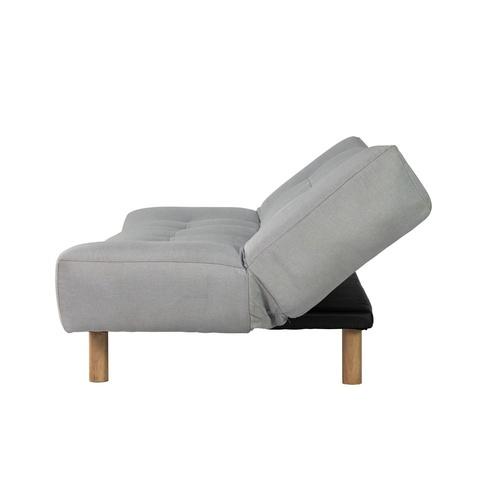 Pulito โซฟาปรับระดับผ้า 3 ที่นั่ง ขนาด 189x102x90 CM. Jessy สีเทา