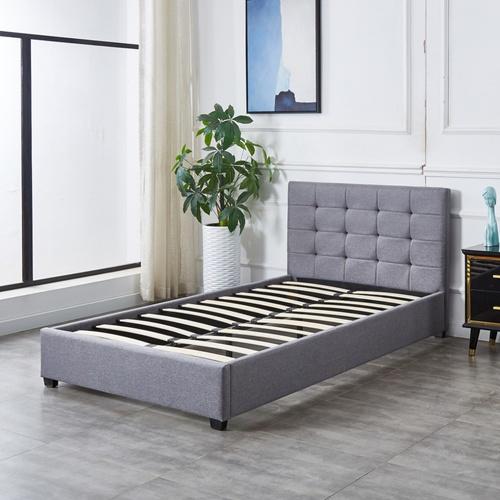 Truffle เตียงนอน  3.5 ฟุต เคย์ สีเทา