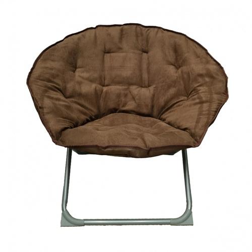 Pulito เก้าอี้พักผ่อนทรงกลม ขนาด 82x85x70ซม.  Moon-Round  น้ำตาล