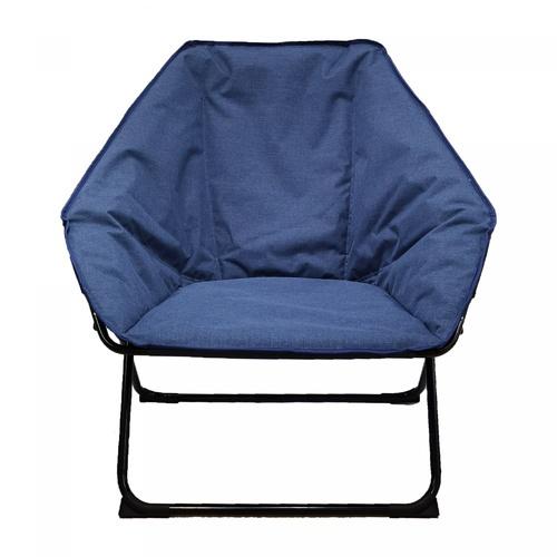 Pulito เก้าอี้พักผ่อน ขนาด 84x86x73ซม. Moon-Pentagon  สีน้ำเงิน
