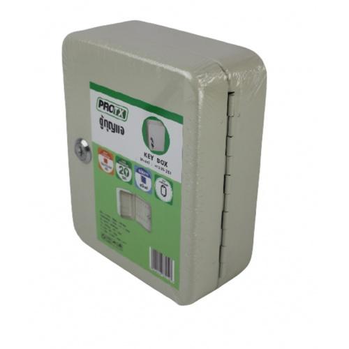 Protx ตู้กุญแจ สำหรับกุญแจ 20 ดอก พร้อมป้าย 10 ชิ้น HF200-20K สีเบจ