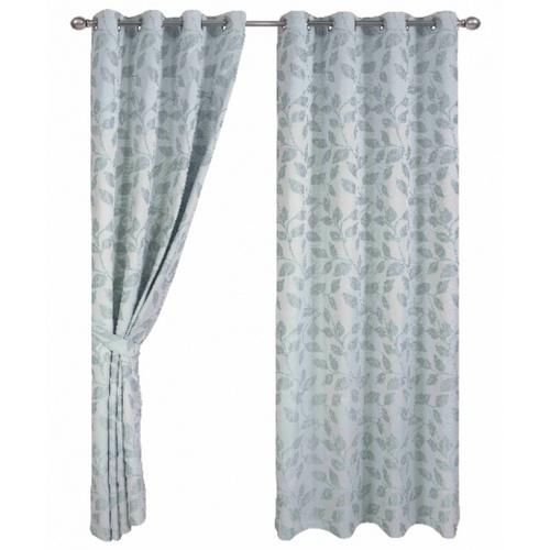 Davinci ผ้าม่านหน้าต่าง  ขนาด 150x160ซม.   Lysebrun  สีเขียว