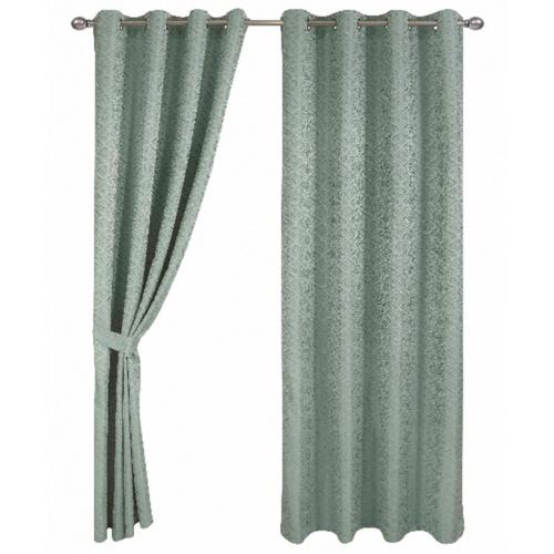 Davinci ผ้าม่านประตู  ขนาด 150x250ซม.   Groan  สีเขียว