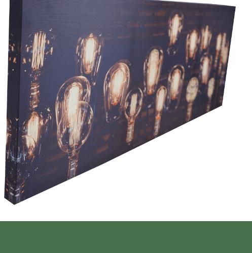 NICE รูปภาพพิมพ์ผ้าใบ LoftVintage ขนาด 90x36ซม. (ก.xส.) (หลอดไฟ) C94x36-8