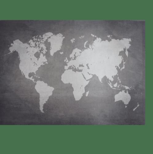 NICE รูปภาพพิมพ์ผ้าใบ Map ขนาด  100x70 ซม. (ก.xส.) C10070-1