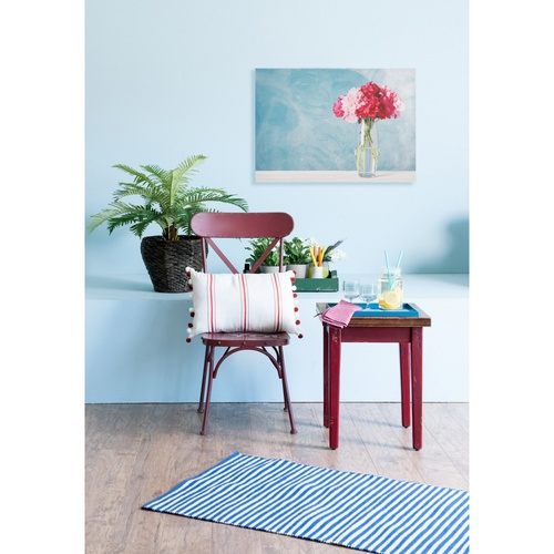 NICE รูปภาพพิมพ์ผ้าใบ Flower Pot ขนาด  70x50 ซม. (ก.xส.) (กุหลาบในแจกัน) C7050-22