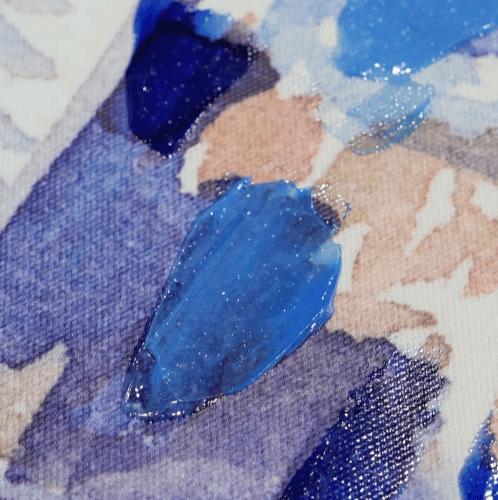NICE รูปภาพพิมพ์ผ้าใบ Abstract-Painting ขนาด  90x60 ซม. (ก.xส.) C9060-2