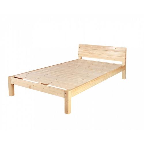 Truffle ชุดเตียงไม้สน 3.5ฟุต  แถมที่นอนและหมอนหนุน 1ใบ