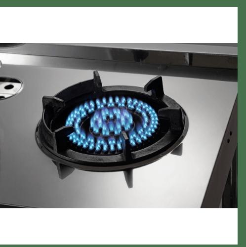 MEX เตาแก๊สตั้งพื้น 1 หัวเหล็กหล่อ PSG561X