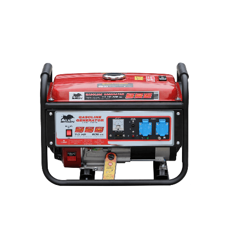 BISON เครื่องปั่นไฟ  FG3500 สีแดง