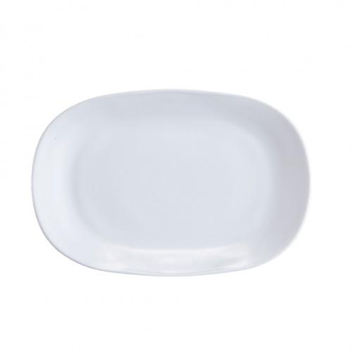 ADAMAS จานเปลโอปอล  ขนาด 14 นิ้ว FXYP140 สีขาว