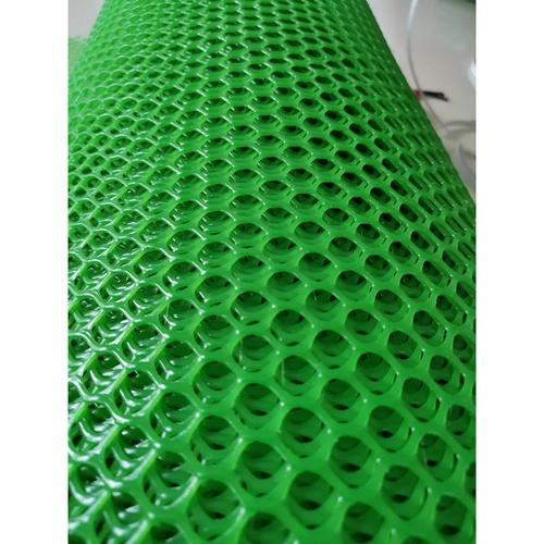 POLLO ตาข่ายพลาสติกหกเหลี่ยม สีเขียว 12มิล 30x0.9ม.PQS-2019-1 PQS-2019-1