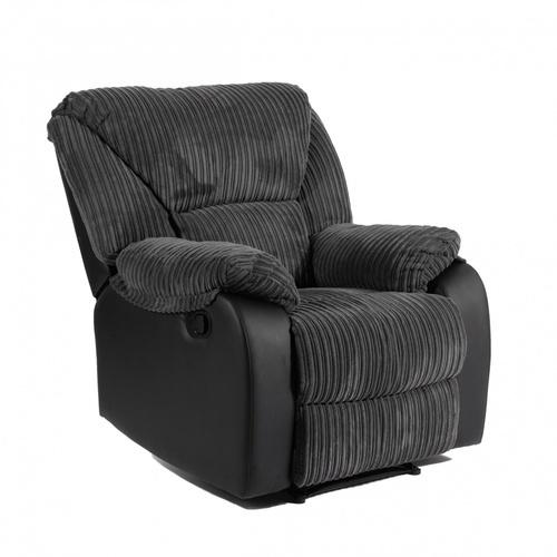 Pulito เก้าอี้พักผ่อน  VALLENAR BLACK  สีดำ