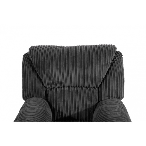Pulito เก้าอี้พักผ่อน PULITO VALLENAR BLACK สีดำ PULITO VALLENAR BLACK