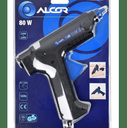 ALCOR ปืนยิงกาวแท่ง 80W. A4060008EU สีดำ