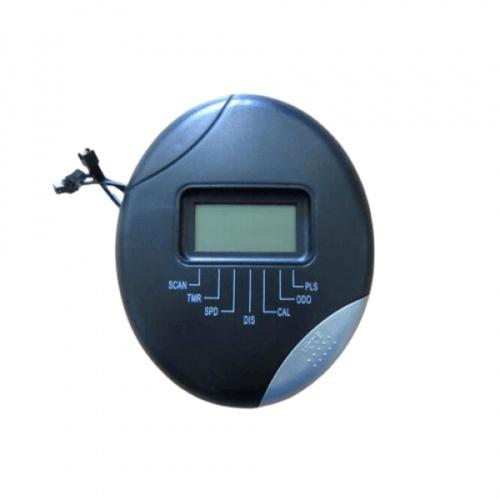 4TEM  มิเตอร์เครื่องเดินวงรี สำหรับ  JFT02 ขนาด 6×7×3ซม. สีดำ