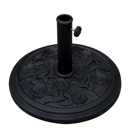 SUMMER SET  ฐานตั้งร่ม Forte  ขนาด44.5×44.5×33ซม.  JM105 สีดำ