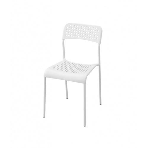 Delicato เก้าอี้พลาสติก   ขนาด 38.5×55.5×77ซม.   6022-B สีขาว