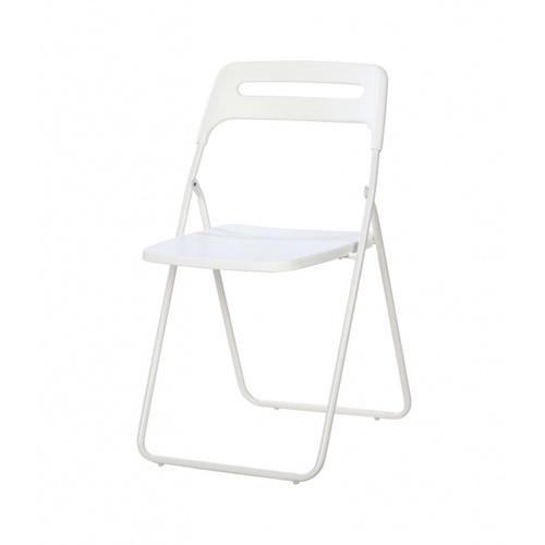Delicato  เก้าอี้พลาสติกพับได้  ขนาด 43×44.5×79.5ซม.   LX-P003-B สีขาว