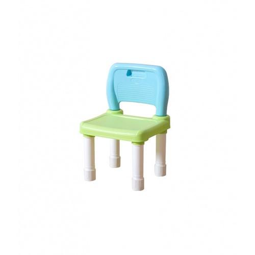 NINO WORLD เก้าอี้เด็กพลาสติก ขนาด 28x30x46 ซม.  YM03-BL สีฟ้า