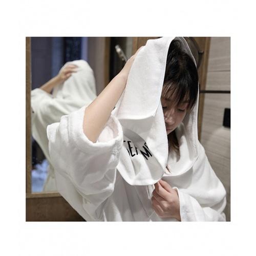 COZY ผ้าเช็ดหน้า ขนาด 35×75×0.4ซม. สีเทาเข้ม LY02