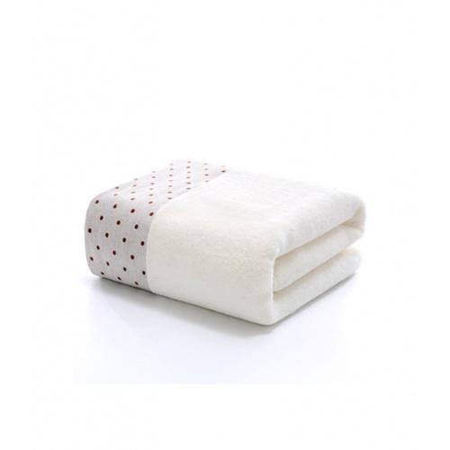COZY ผ้าเช็ดหน้า ขนาด 35×75×0.4ซม. LY04 สีขาว