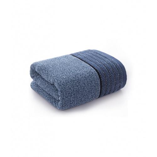 COZY ผ้าเช็ดหน้า ขนาด 35×75×0.4ซม.สีน้ำเงินเข้ม LY07