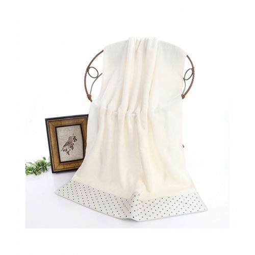 COZY  ผ้าเช็ดตัว ขนาด 70×140×0.4ซม. LY14 สีขาว