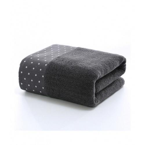 COZY ผ้าเช็ดตัว ขนาด 70×140×0.4ซม. LY15 สีเทา