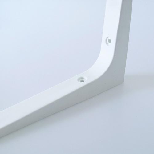 Torsten ฉากรับชั้นพลาสติก ขนาด18X18X1.5ซม. LW01-WT  สีขาว