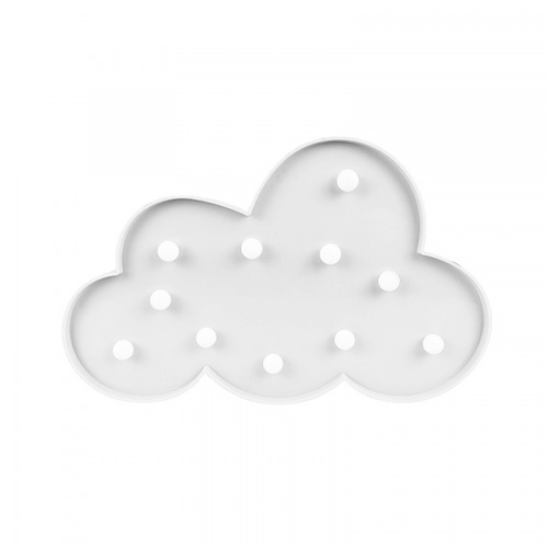 COZY  LEDไฟตกแต่งรูปเมฆ  ขนาด 18.5×30×3 ซม.  FM17 สีขาว