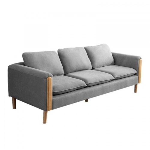 Pulito โซฟา 3ที่นั่ง ขนาด 76x200x75ซม. Bonito สีเทา