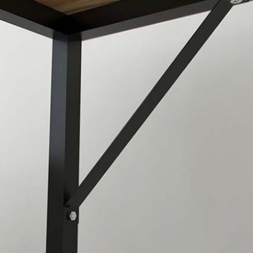 SMITH โต๊ะทำงานขาเหล็ก ขนาด100x48x73ซม.สีวอลนัท GU0317